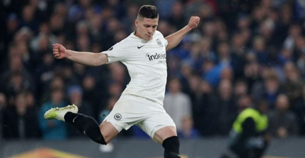 Luko Jovic Real Madrid'e transfer oldu
